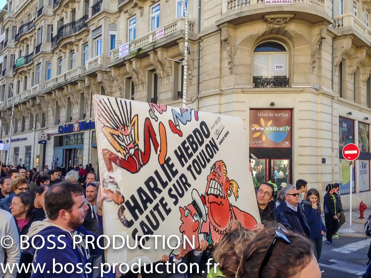 JE SUIS CHARLIE Toulon 4