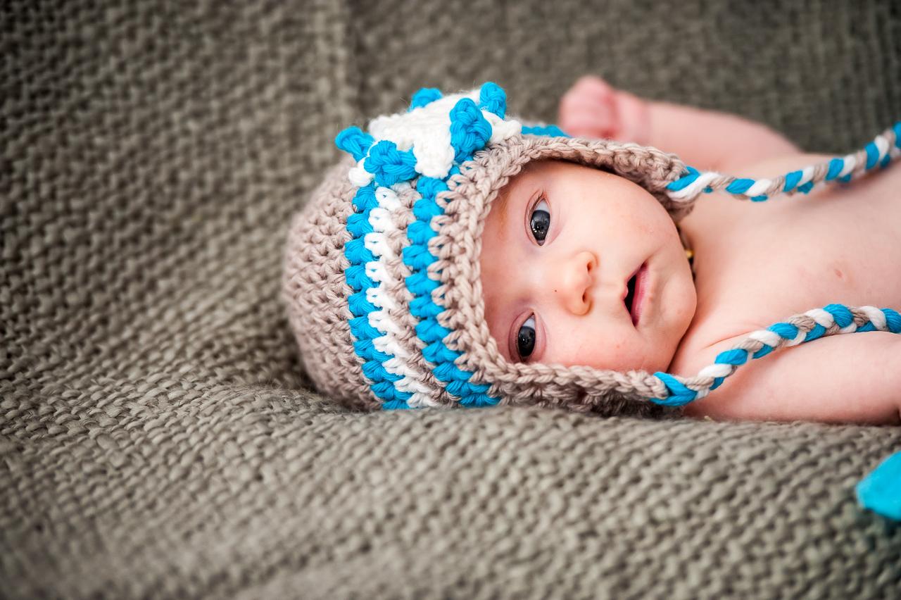 Photo de naissance bébé