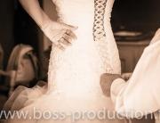 photo habillage mariage